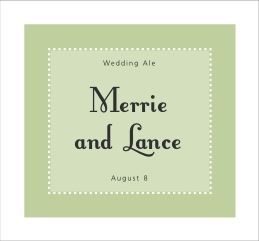 Summer Garden large rectangle labels