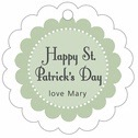 Summer Garden st. patrick's day tags