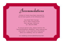 custom enclosure cards - deep red - summer garden (set of 10)