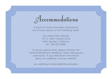 custom enclosure cards - periwinkle - summer garden (set of 10)