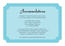 custom enclosure cards - bahama blue - summer garden (set of 10)