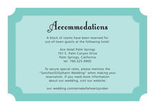 custom enclosure cards - aruba - summer garden (set of 10)