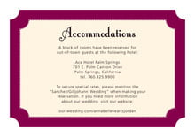 custom enclosure cards - burgundy - summer garden (set of 10)