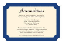 custom enclosure cards - deep blue - summer garden (set of 10)
