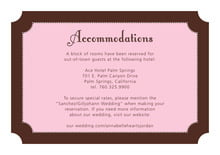 custom enclosure cards - cocoa & pink - summer garden (set of 10)
