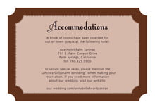 custom enclosure cards - chocolate - summer garden (set of 10)