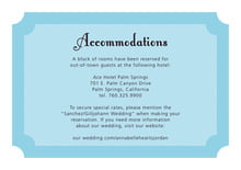 custom enclosure cards - sky - summer garden (set of 10)