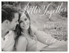Signature Script save the date cards