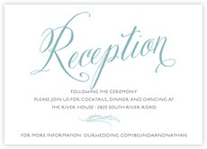 Signature Script wedding enclosure cards