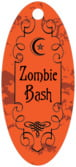 Spook small oval hang tags