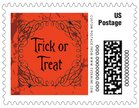 Spook small postage stamps