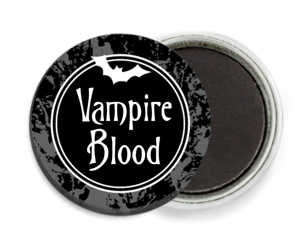 custom button magnets - smoke - spook (set of 6)