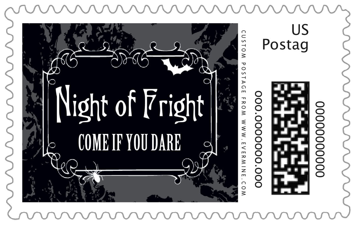 custom large postage stamps - smoke - spook (set of 20)