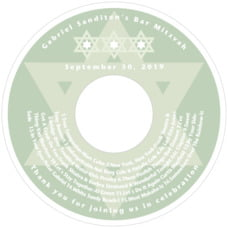 Star of David cd labels