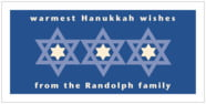 Star of David rectangle labels