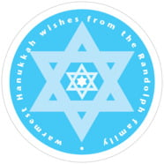 Star of David large circle labels