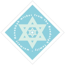 Star of David diamond labels