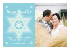 holiday cards - sky - star of david (set of 10)
