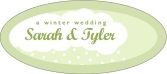 Snowswirls oval labels