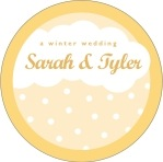 Snowswirls circle labels