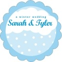 Snowswirls scallop labels
