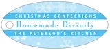 Snowflake oval hang tags