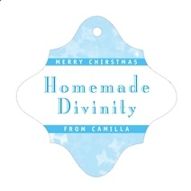 Snowflake fancy diamond hang tags