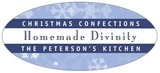 Snowflake oval labels