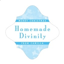Snowflake fancy diamond labels