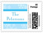 Snowflake small postage stamps