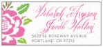Spring Romance designer address labels