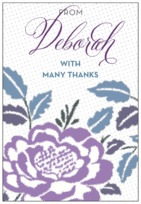 Spring Romance tall rectangle labels