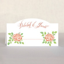 Spring Romance place cards