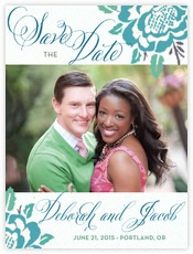 Spring Romance save the date cards