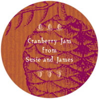 Sugar Pine small canning jar toppers