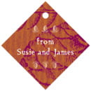 Sugar Pine small diamond hang tags