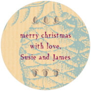 Sugar Pine large circle labels