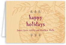 Sugar Pine holiday note cards
