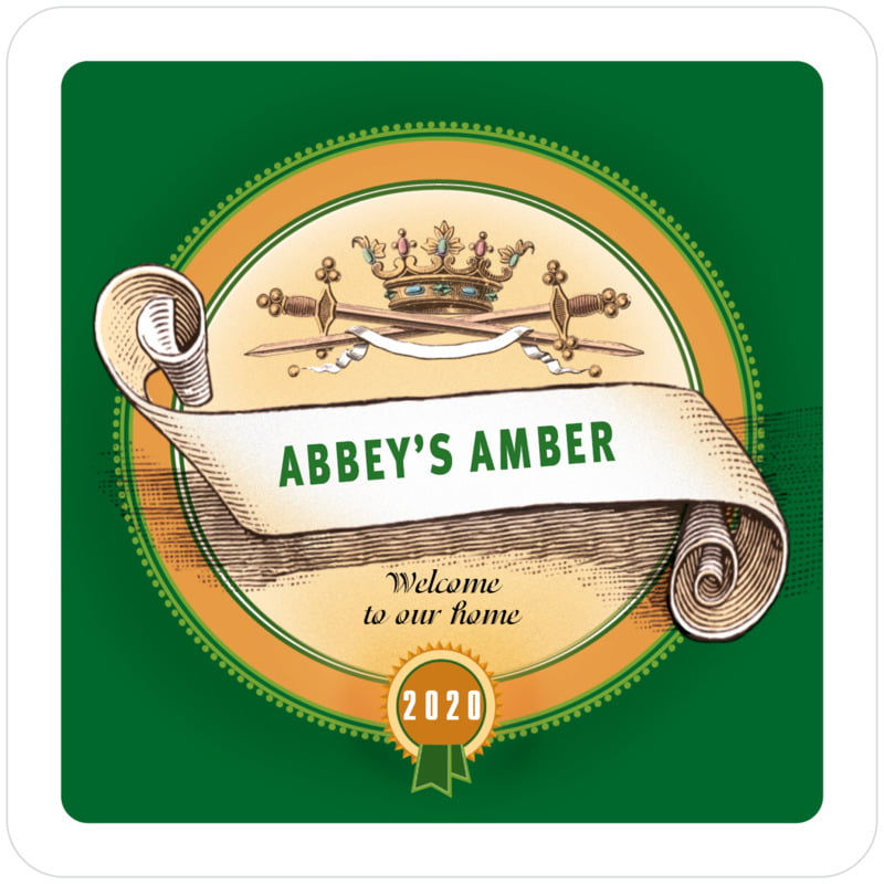 square beer coasters - deep green - san r?my (set of 12)