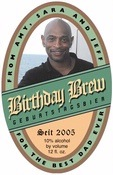 Steiermark birthday beer labels