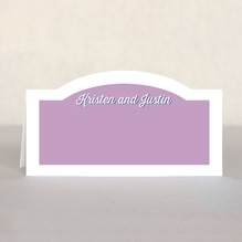 Swing place cards