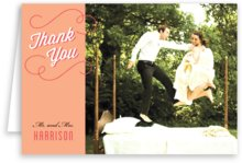 Swing photo note cards