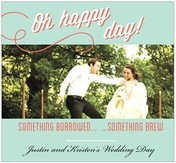 Swing wedding beer labels