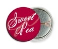 Sweetheart pin back buttons