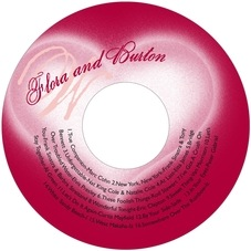 Sweetheart custom CD/DVD labels