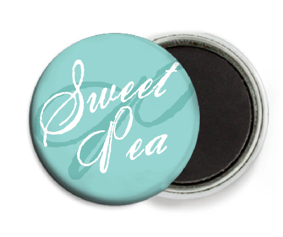 custom button magnets - aruba - sweetheart (set of 6)