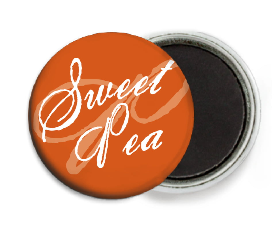 custom button magnets - spice - sweetheart (set of 6)