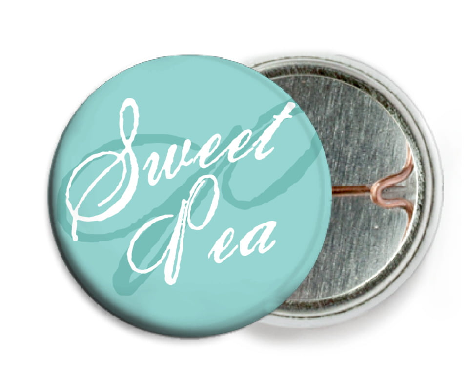 custom pin back buttons - aruba - sweetheart (set of 6)