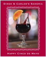 Tiny Charms party wine labels