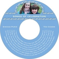 Tiny Charms cd labels
